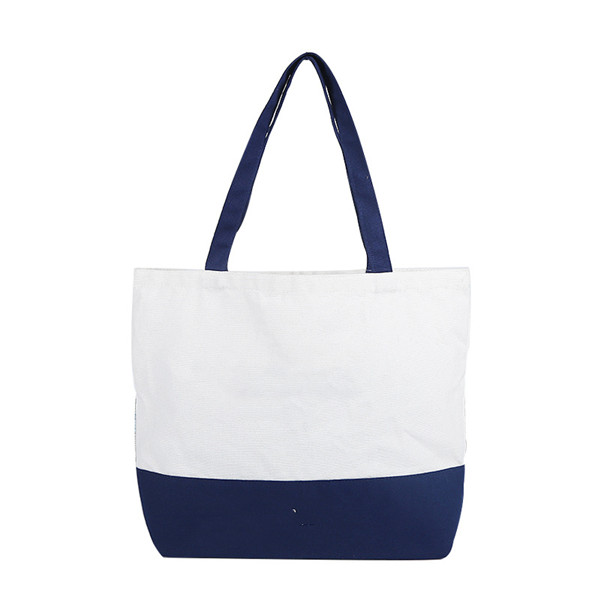 Heavy Cotton Canvas Two Tone Tote Bag - 副本