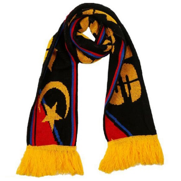 Knitted Stadium Scarf