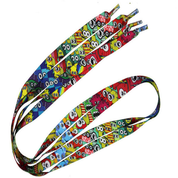 Custom Dye Sublimated Shoelaces