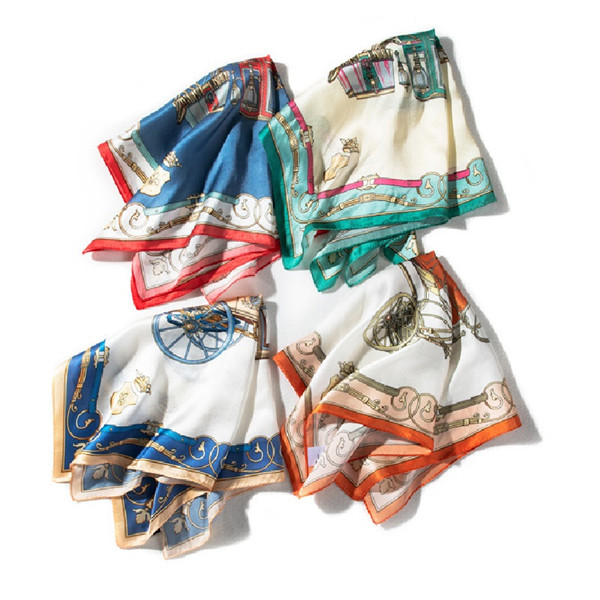 Top Quality Printed Real Silk Scarf