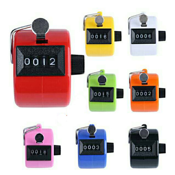 Multicolored Hand Tally Counter