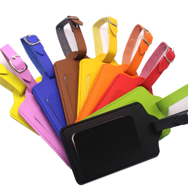 Promotional Soft PU Luggage Tag