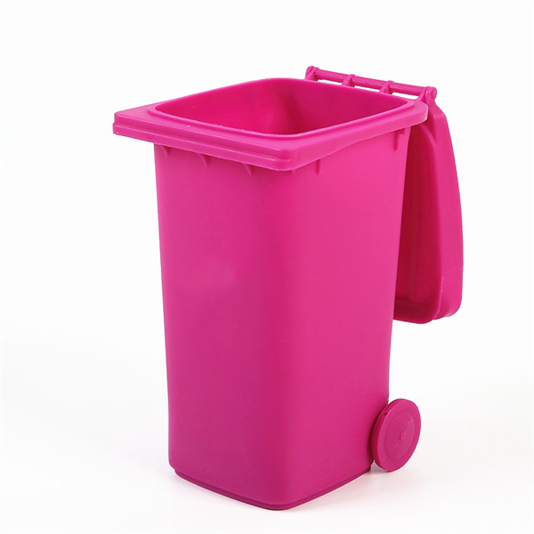 Trash Can Shaped Pen Holder