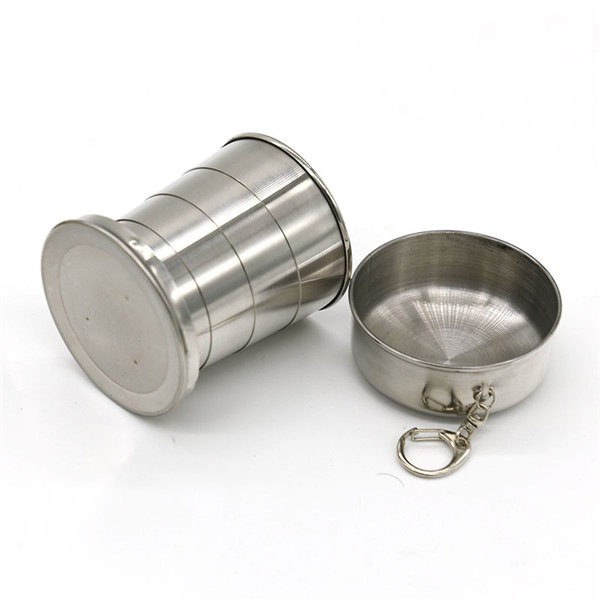 4.5oz Collapsible Cup with Key Ring 140ml