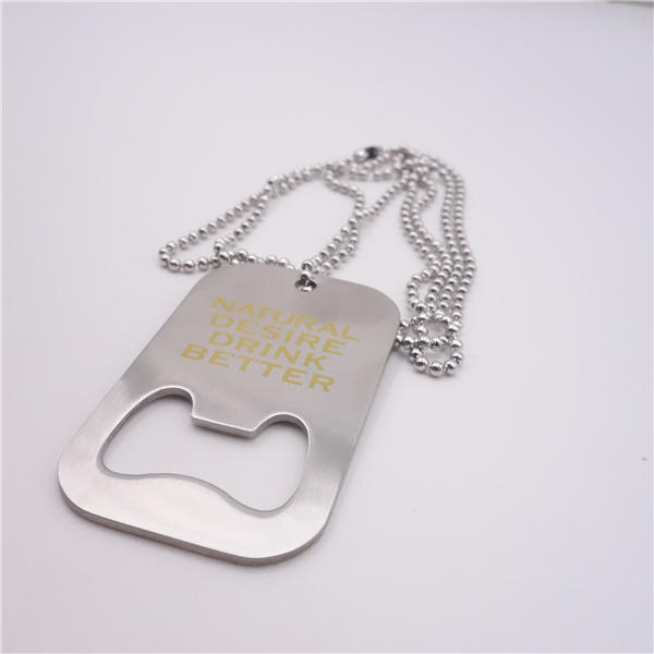 Dog Tag with Bottle Opener