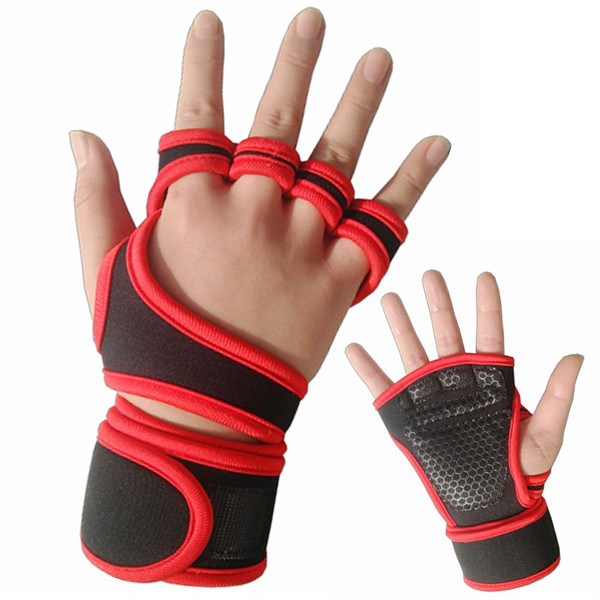 Neoprene Half Finger Fitness Gloves