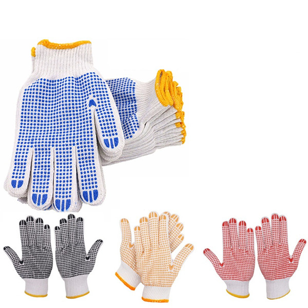 Knit Dot Work Gloves Labor Safety Protection Gloves