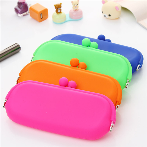 Silicone Coin Purse Glasses Bag