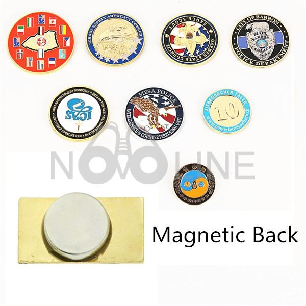 Lapel Pin with Magnetic Back Magnet Pin