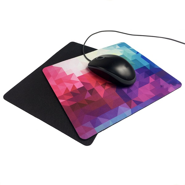 Sublimated Anti-Fray Cloth Rubber Mouse Pad