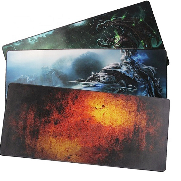 Extended Gaming Anti-Fray Cloth Rubber Based Mouse Pad