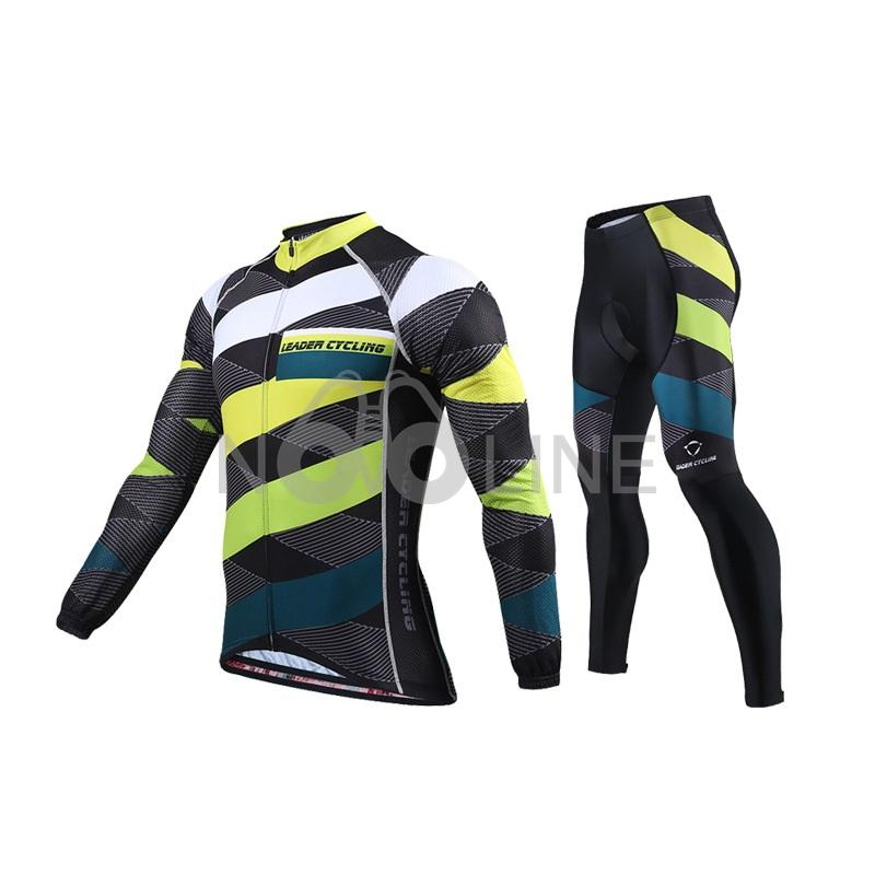 Long Sleeve Cycling Jerseys Kit/Breathable Cycling Jersey