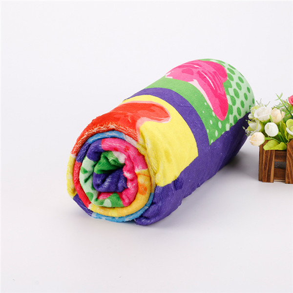 Full Color Micro Plush Fleece Blanket