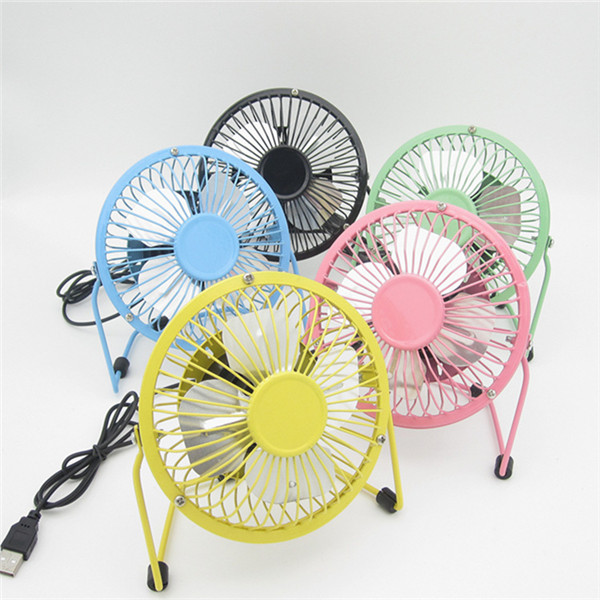 Mini Fan with USB Cable 4 inches
