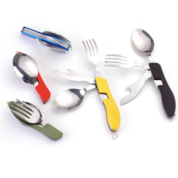 3 in 1 Portable Folding Tableware