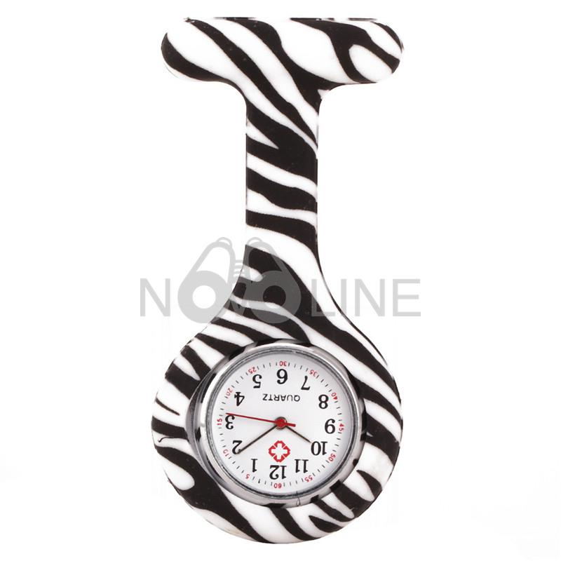 Dye-Sublimated Silicone Nurse Watch Pocket Watch