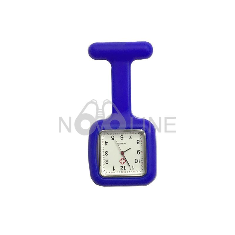 Square Silicone Nurse Watch Pocket Watch