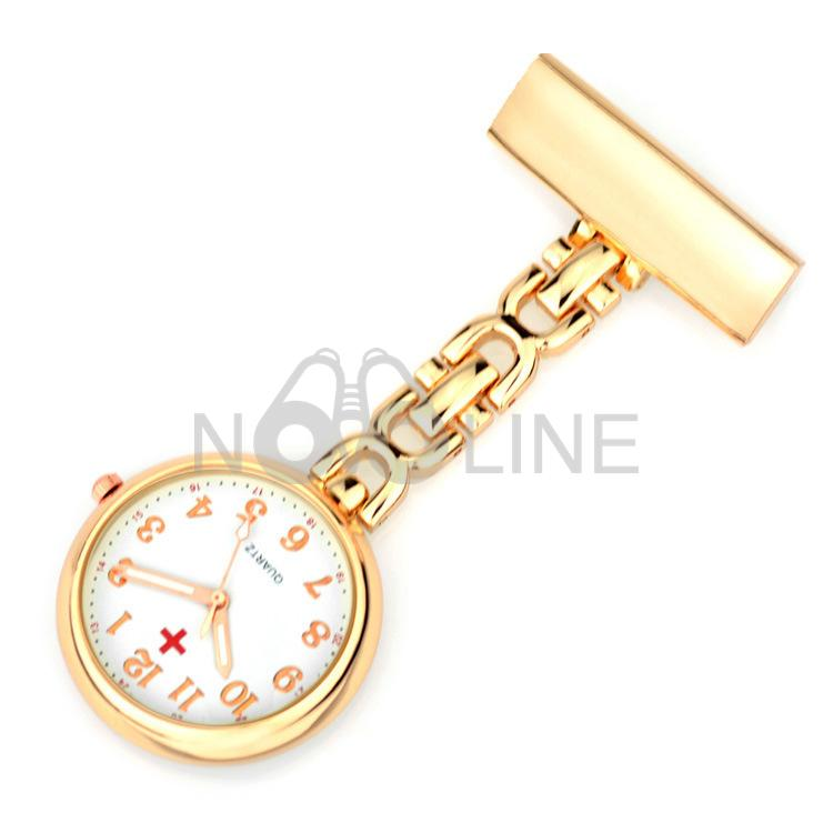 Metal Nurse Electronic Watch