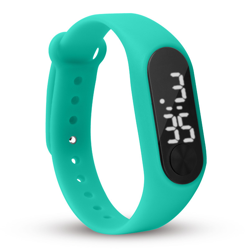 Silicone Pedometer Watch