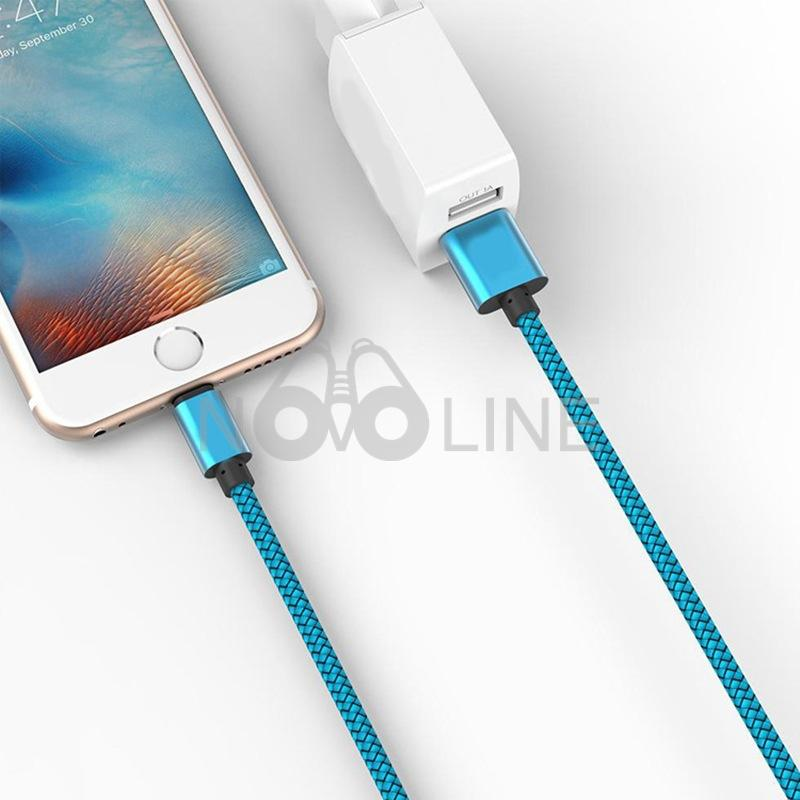 Nylon Woven Braided  Android Charing Cable