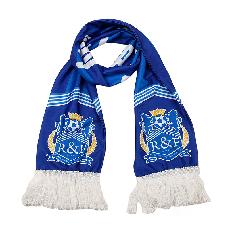 Satin Winter Soccer / Football Scarf