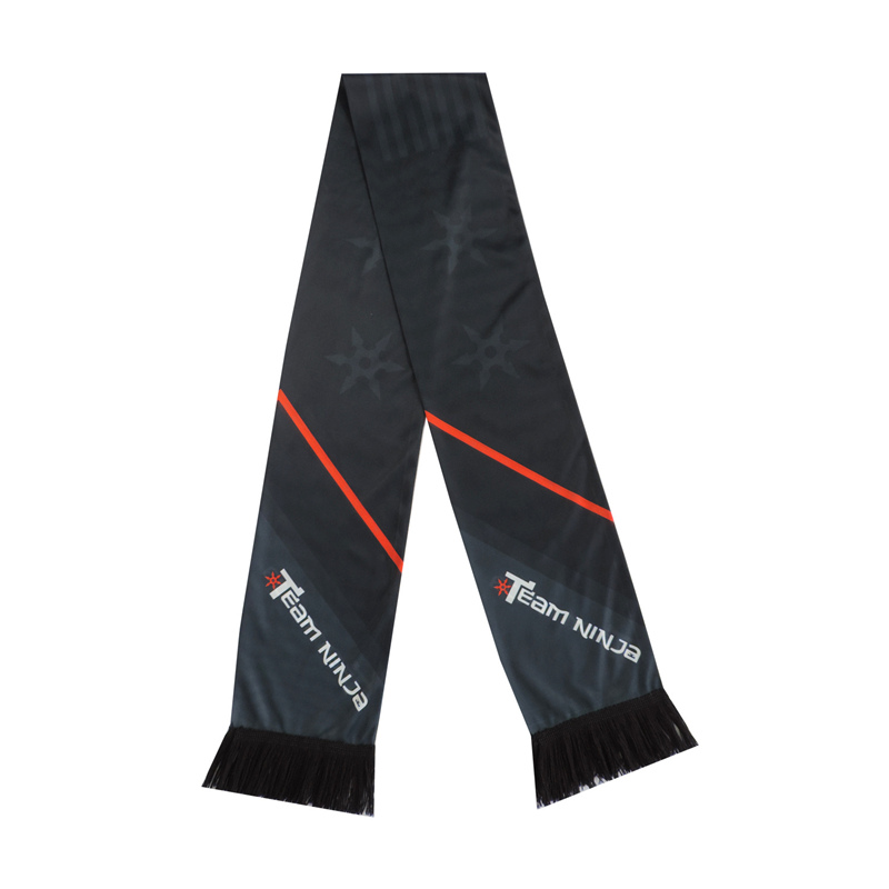 Polyester Winter Soccer / Football Scarf