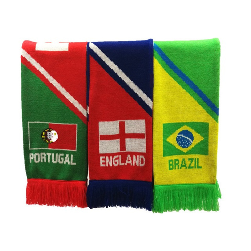 World Cup Stadium Scarf Knitted Scarf