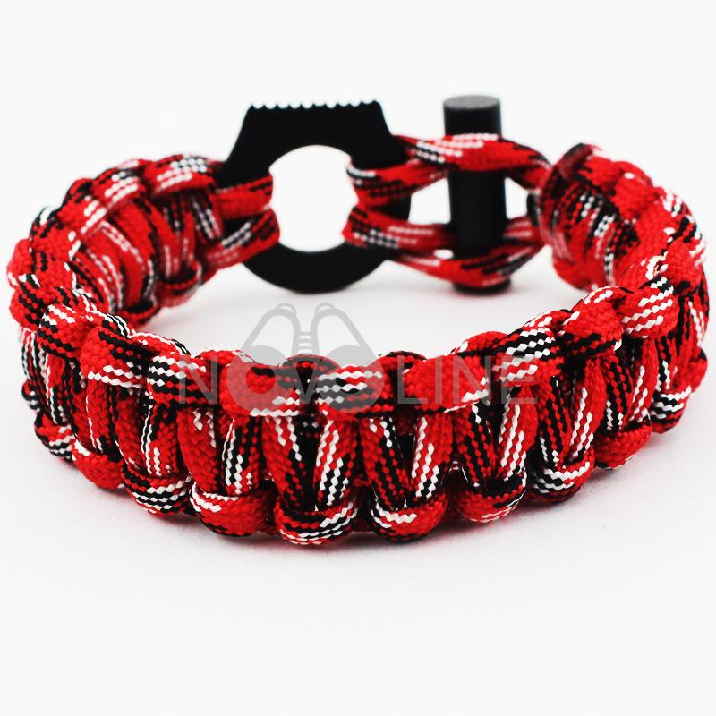 Paracord Survival Bracelet with Saw Tool