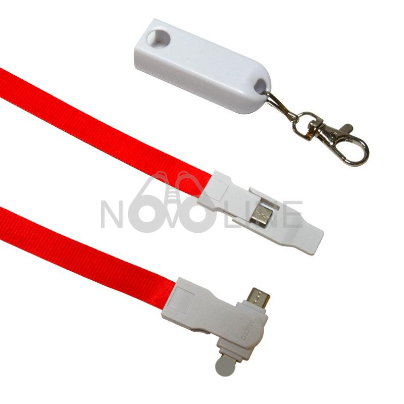 3-in-1 Lanyard Cell Phone Charging Cable