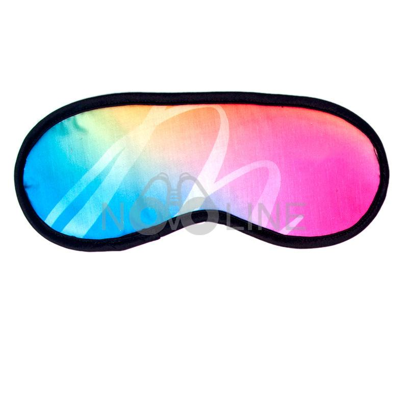 Adjustable Strap Sublimated Eye Mask