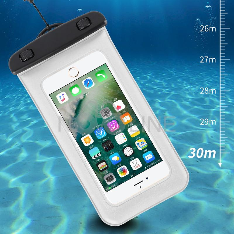 Floating Waterproof Phone Pouch With Cord