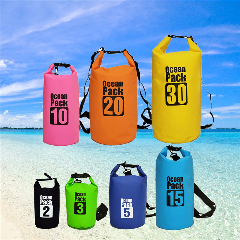 5L Waterproof Dry Bag with Shoulder Strap