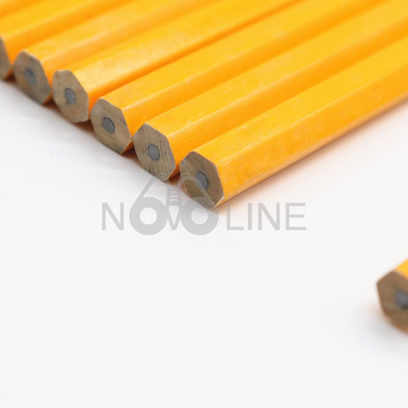 Round Cheap Yellow Pencil