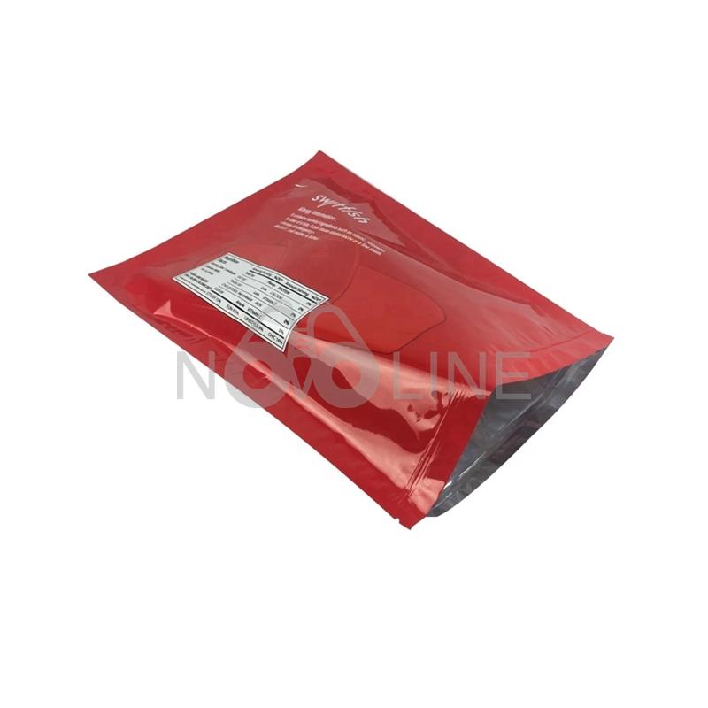 Aluminum Foil Mylar Recloseable Bag with Custom Imprint