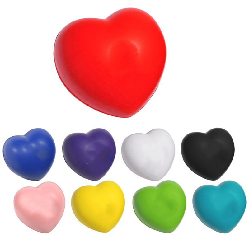 Love Heart Shaped Stress Ball