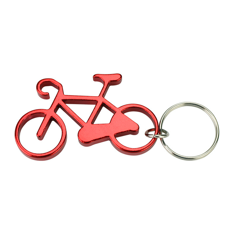 Bicycle Shaped Bottle Opener with Key Holder