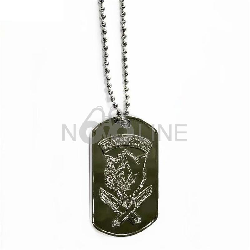 Zinc Alloy Dog Tag