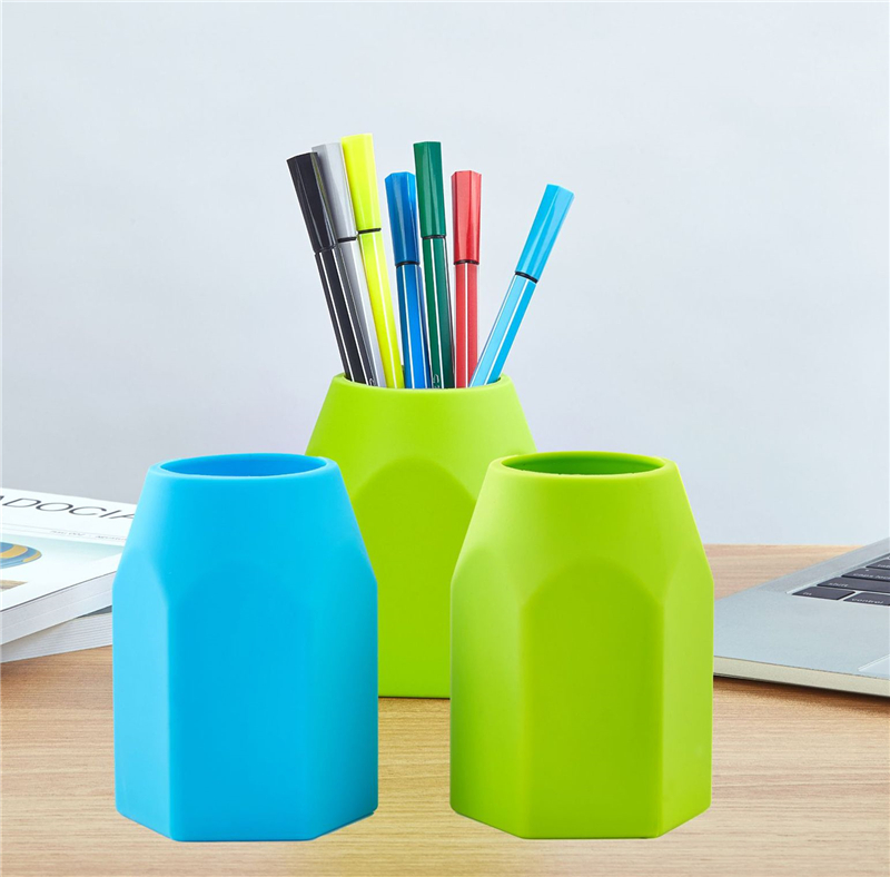 Soft Silicone Pen Holder